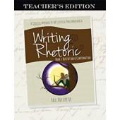 Writing & Rhetoric Book 5: Refutation & Confirmation - Teacher's Edition - Classical Academic Press