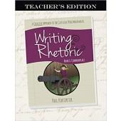 Writing & Rhetoric Book 6: Commonplace, Teacher's Edition - Classical Academic Press