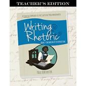 Writing & Rhetoric Book 7: Encomium & Vituperation, Teacher's Edition - Classical Academic Press