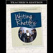 Writing & Rhetoric Book 10: Thesis Part 1 Teacher's Edition