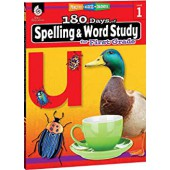 180 Days of Spelling and Word Study for First Grade - Teacher Created Materials