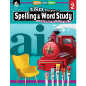 180 Days of Spelling and Word Study for Second Grade - Teacher Created Materials