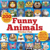 Dover Funny Animals Sticker Fun: Mix and match the stickers to make funny animals