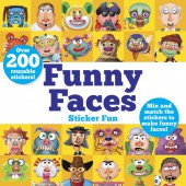 Dover Funny Faces Sticker Fun: Mix and match the stickers to make funny faces