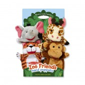 Zoo Friends Hand Puppets - Melissa and Doug